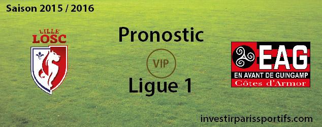 Pronostic investirparissportifs.com - Investir paris sportifs LOSC EAG VIP