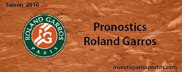 Pronostic investirparissportifs.com - Investir paris sportifs Roland Garros