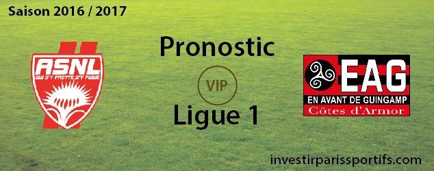 InvestirParisSportifs - Prono ligue 1 - 2016 - 2017 - ASNL EAG - investirparissportifs.com