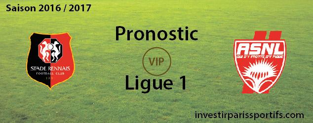 InvestirParisSportifs - Prono ligue 1 - 2016 - 2017 - SRFC ASNL - investirparissportifs.com