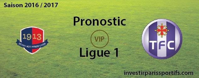 InvestirParisSportifs - Prono LDC - 2016 - 2017 - Caen Toulouse - investirparissportifs.com