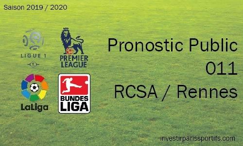 Pronostic 011 – Strasbourg / Rennes – Ligue 1