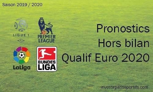 Pronostic Hors Bilan – Qualification Euro 2020 – W41
